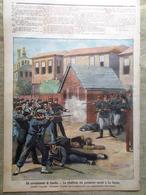 La Tribuna Illustrata 14 Marzo 1897 Rivolta Candia Hortis La Canea Grecia Nido - Ante 1900