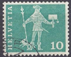 HELVETIA - SUISSE - SVIZZERA - 1960 - Yvert 644A Usato. - Usati