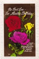 AR64 Greetings - My Best Love For Auntie's Birthday - Roses - Birthday