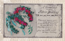 AR64 Greetings - A Greeting For Your Silver Wedding - Holidays & Celebrations