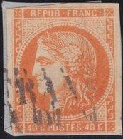 France  .   Yvert   .    48    (2 Scans)  .       O          .      Oblitéré - 1870 Emission De Bordeaux