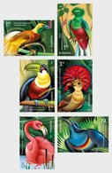 Romania 2019 / Exotic Birds / Set 6 Stamps - Altri