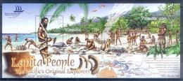 J124- Vanuatu 2005 Pacific Explorer. Birds. Lapita People. Rooster. Fauna. World Stamp Expo. - Vanuatu (1980-...)