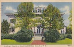AS87 Sternberger Hospital For Women And Children, Greensboro, N.C. - Linen - Greensboro