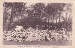 Cpa COLONIE DE VACANCES DE L ILE D AIX UNE BELLE HISTOIRE - France