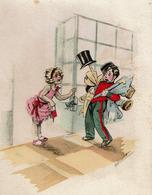 Carte / Programme / Matinée De Noël Illustrée Par Germaine Bouret - C1935 - 3 Scans - Bouret, Germaine