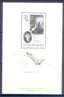 J127- CZECH REPUBLIC 2005. LUNAR LANDSCAPE DRAWING HISTORY. SPACE. - Repubblica Ceca