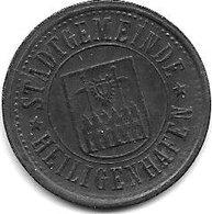 *notgeld  Heiligenhafen 10 Pfenng  O.j. / ND  Zn    6206.6 / F205.4 - Other