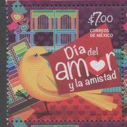 MEXICO , 2017, MNH, DAY OF LOVE AND FRIENDSHIP, BIRDS,  1v - Birds