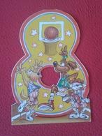 SPAIN TARJETA DE FELICITACIÓN DÍPTICO CARD BASKET BALL BALONCESTO BASKETBALL DOGS Harlem Globetrotters ?? TROQUELADA VER - Documentos Antiguos