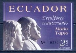 J138- Ecuador 2004 Sculptures. - Ecuador