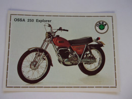 PANINI Super MOTO N°155 OSSA 250Explorer - Panini