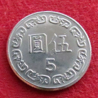 Taiwan 5 Yuan 1981 / 70 Y# 552 Lt 543  China Formosa Chine - Taiwán