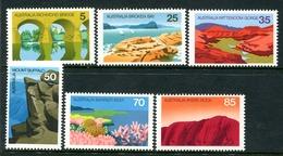 Australia 1976 Australian Scenes Set MNH (SG 627-632) - 1966-79 Elizabeth II