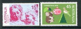 Australia 1976 Christmas Set MNH (SG 635-636) - 1966-79 Elizabeth II