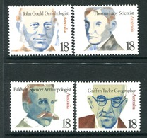 Australia 1976 Famous Australians - 8th Issue - Set MNH (SG 637-640) - 1966-79 Elizabeth II