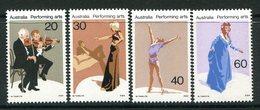 Australia 1977 Performing Arts Set MNH (SG 641-644) - 1966-79 Elizabeth II