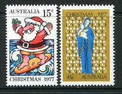 Australia 1977 Christmas Set MNH (SG 655-656) - 1966-79 Elizabeth II