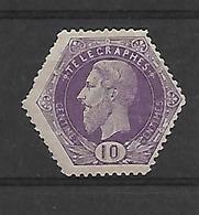 BelgiëTelegraaf N° 3  TANDING !!!  Cote 270 Euro  Xx Postfris - Telegraphenmarken