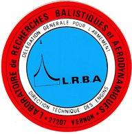Autocollant   - LABORATOIRE De RECHERCHE BALISTIQUES Et AERODYNAMIQUES - Stickers