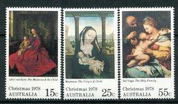 Australia 1978 Christmas Set MNH (SG 696-698) - 1966-79 Elizabeth II