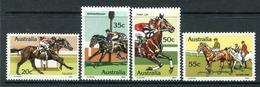 Australia 1978 Race-horses Set MNH (SG 699-702) - 1966-79 Elizabeth II