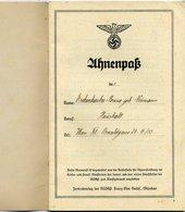 Ostmark; Ahnenpass Ausgestellt In Wien, 24. 3. 1935 - Historische Dokumente