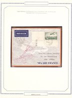 Lettre AVION TARIF 1936 Paris → Lyon SALON AÉRONAUTIQUE 85c. - 1927-1959 Lettres & Documents