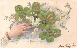 Viel Glück Im Neuen Jahre - 1903 - Trèfle à Quatre - Anno Nuovo