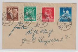 Dt. Reich: Satzbrief Messe Wien 1941 - Deutschland