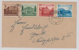 Dt. Reich: Satzbrief Leipziger Messe 1941 - Deutschland