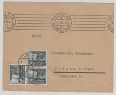 Dt. Reich: WHW 1937; 3x 4 Pfennig Auf Fernbrief - Deutschland