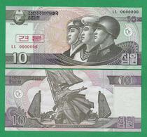 COREA DE NORD - 10 WON - 2002 - SPECIMEN - UNC - Korea, Noord