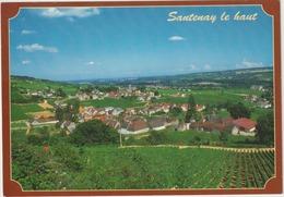 Côte D ' Or :  SANTENAY  Le  Haut   : Vue - Other Municipalities
