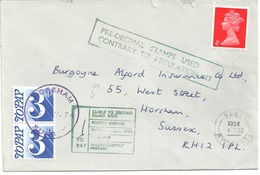 POSTAGE DUE AND CHARGE MARKS - PRE-DECIMAL STAMPS USED CONTRARY TO.... - Postage Due