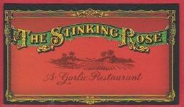The Stinking Rose. Restaurant. San Francisco. Californie. Etats Unis. 2019. - Visiting Cards