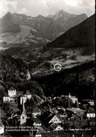 ! S/w Ansichtskarte Feldkirch, Vorarlberg, Kinderheim Maria Ebene, 1966, Eilboten Expres, Österreich - Feldkirch