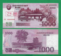 COREA DE NORD - 1000 WON - 2008 - SPECIMEN - UNC - Korea, Noord