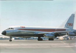 TWA - Trans World Airlines Convair 880-22-1 N824TW Aereo Aviation At LAX Airplane - 1946-....: Era Moderna