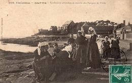 Concarneau-coat-pin-sardinieres-bon état - Concarneau