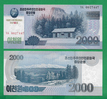 COREA DE NORD - 2000 WON - 2008 - UNC - Korea, Noord