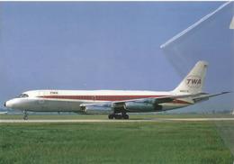 TWA - Trans World Airlines Convair 880-22 N803TW Aereo Aviation At CMH Airplane - 1946-....: Era Moderna