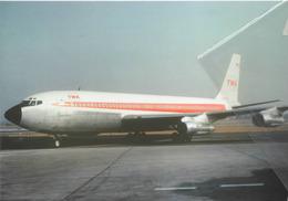 TWA - Trans World Airlines BOEING 707 -131B N757TW Aereo Aviation Airplane - 1946-....: Era Moderna