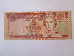 Rare! Fiji 5 Dollars 1995 Banknote UNC - Fiji