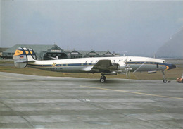 Lufthansa Airlines Super Star Lockheed L-1649A Costellation D-ALAN Aviation Airplanev At HND - 1946-....: Era Moderna