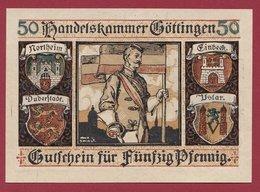 Allemagne 1 Notgeld  25 Pfenning Stadt Göttingen  (RARE) Dans L 'état N °4640 - Collections