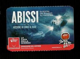 Biglietto Di Ingresso - Abissi - Casa Della Scienza - Genova - Biglietti D'ingresso