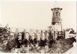 Puin Na Brand, St. Petrus En Paulus Kerk 10 X 14.5 **** Oostende - Ostende - Ostend - Photos