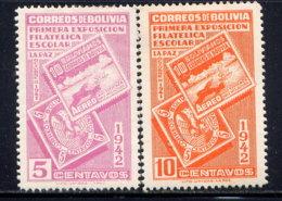 BOLIVIA, NO.'S 274-275, MH - Bolivia