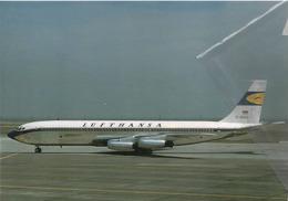 Lufthans Airlines Boeing 707-430 Aviation Aereo D-ABOG Airplane At HND - 1946-....: Era Moderna